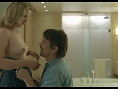 Julie Delpy Nude Tits From Before Midnight Movie
