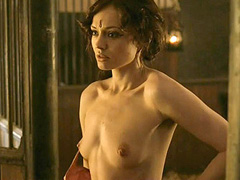 Laura Haddock naked during hot sex scene