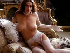 Debra Beatty nude poses for a photographer