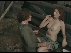 Kelly Reilly Nude Boobs In Puffball Movie