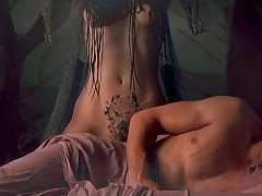 Monica Bellucci Nude Scene In Brotherhood of the Wolf Movie