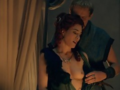Jaime Murray Nude Sex Scene In Spartacus Gods Of The Arena S...