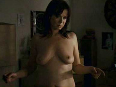Emily Watson topless shows her huge boobs