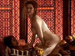 Esme Bianco And Sahara Knite Hot Lesbian Sex In Game Of Thro...