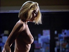 Kathleen Kinmont Nude Boobs And Butt In The Corporate Ladder...