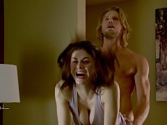 Alexandra Daddario Wild Sex Scene In The Layover Movie