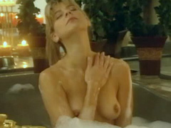 Amy Lindsay nude sitting in bathtub