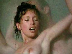 Jane March nude in a shower as she has sex
