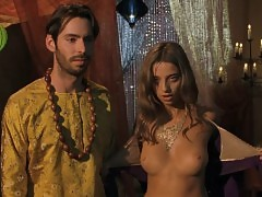 Angela Sarafyan Nude Boobs In A Good Old Fashioned Orgy Movi...