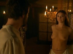 Natalie Dormer Boobs And Nipples In Game of Thrones Series