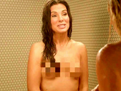 Sandra Bullock nude completely in shower