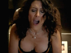 Lisa Edelstein having hot sex with a guy
