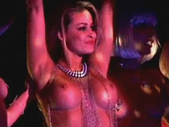 Carmen Electra strip sexy topless