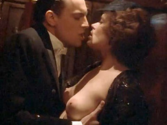 Sylvia Kristel topless durin hot sex scene