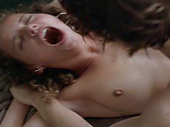 Bijou Phillips nude in very rough sex scene