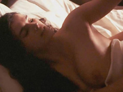 Julia Ormond topless sex scene from behind