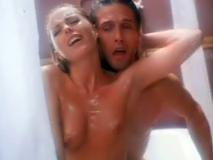 Patsy Kensit nude sex scene in the shower