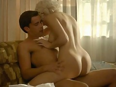 Elena Satine nude riding a guy during sex act