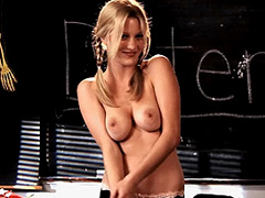Ashley Hinshaw naked masturbating fot the camera