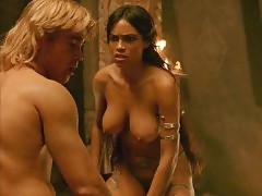 Rosario Dawson Boobs And Sex In Alexander Movie