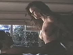 Kelly Preston nude boobs during sex