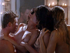 Jillian Murray naughty foursome sex scene